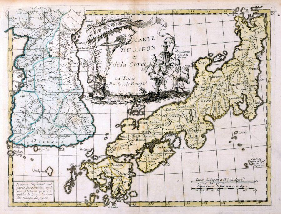 terre japon plan