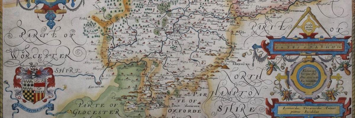 Antique Maps - Tooley Adams